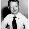 Greg in OLQP uniform - 1st grade - 1955