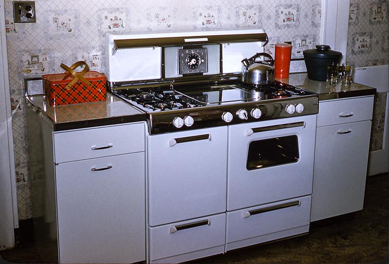 Huber kitchen - 1955