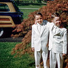 Sonny & Greg in the front yard of 157 Prospect Ave.