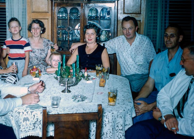 Mom & Dad's 14th Anniversary & Barry's 3rd birthday - September 1955