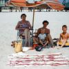 Nana, Mom, Barry & Greg - Lavallette 1955