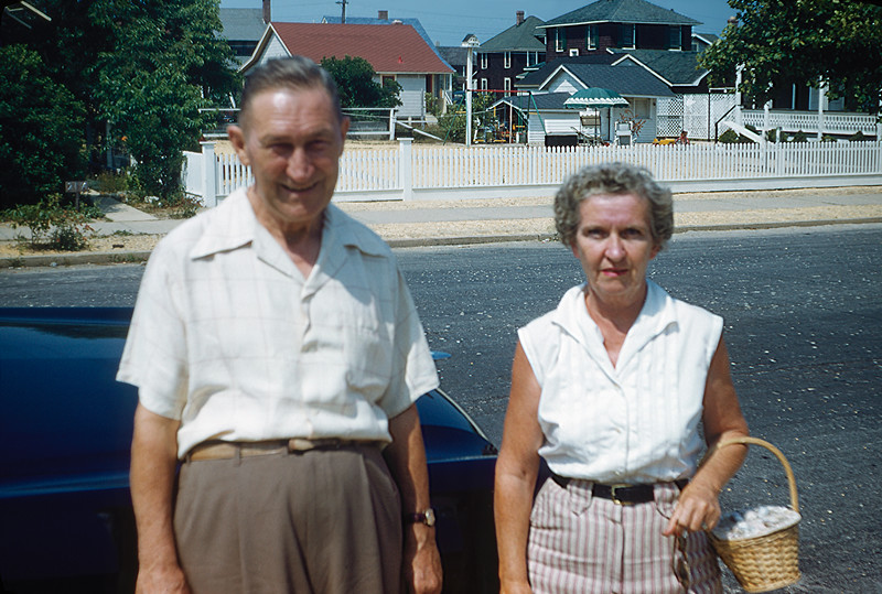 Aunt Helen with husband Jim Gorman - 1955