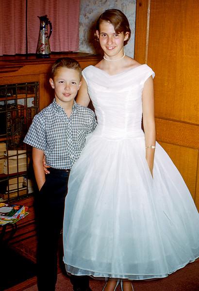 Greg & Nancy - 1957