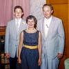 Robert's grammar school graduation - June 1957