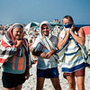 3 Towel men - Lavallette - 1957