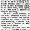 Edmunde Huber Obituary - The Record - April 25, 1957