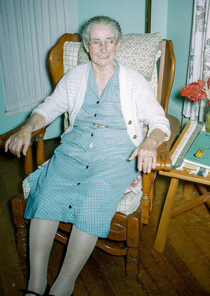 Mrs. Kirby at age 85 - Lavallette - 1957