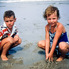 Phillip & Kathy - Lavallette - July 1957