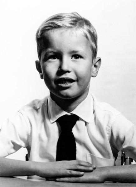 Barry's OLQP school photo - 1957