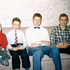 Four cousins - Christmas 1957