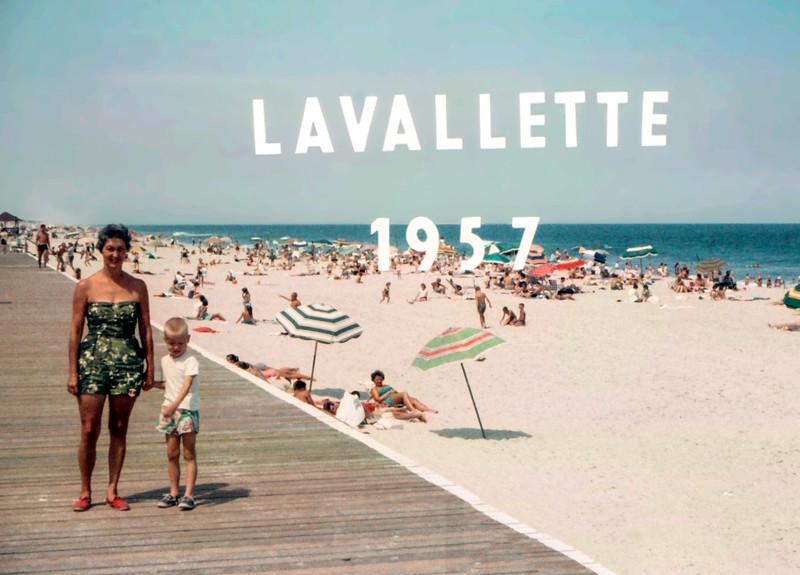 Lavallette vacation - 1957