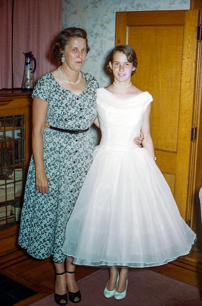 Aunt Muriel & Nancy - 1957