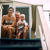 Mom, Dad & Barry - Lavallette - 1956