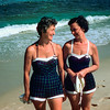 The 2 Rita's - Mom with Rita Lugosh - 1956
