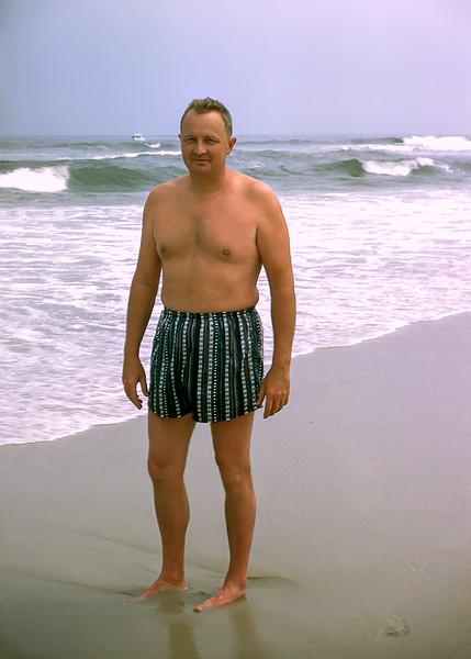 Dad - Lavallette - 1956