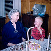 Nana on her birthday with Barry - 1956