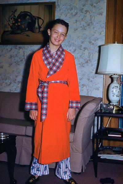 Greg - Christmas 1958