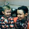 Barry & Greg - Christmas 1958