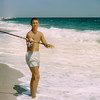 Robert fishing - Lavallette - 1958