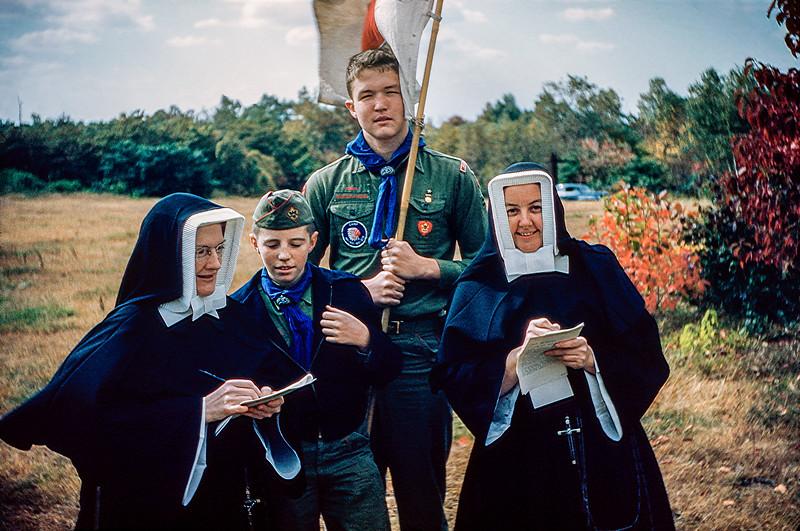 Robert - Boy Scout Nuns Day - June 1958