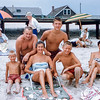 Family with Dorothy Ellis - Lavallette - 1959