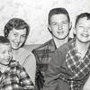 Mom with Barry, Robert & Greg