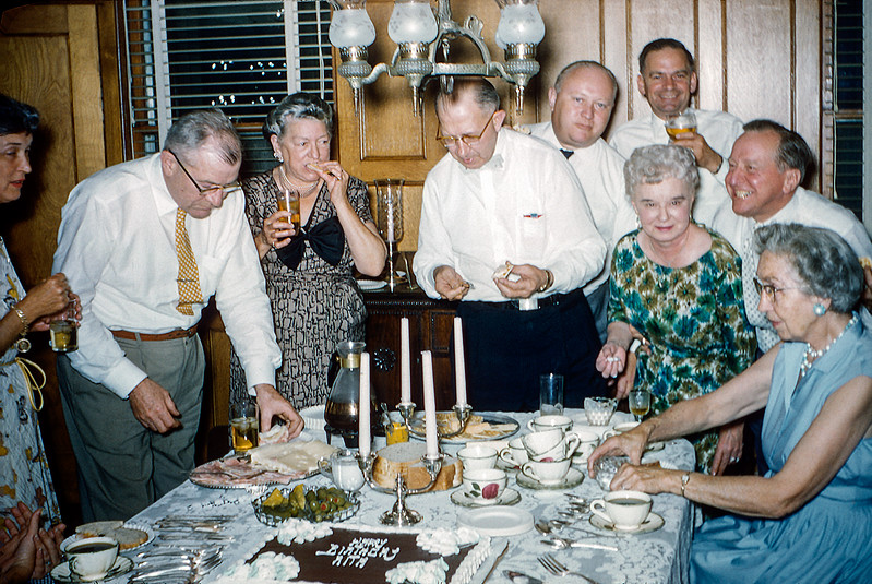 Mom's 43rd birthday party - June 13, 1959