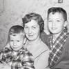 Barry, Mom & Greg circa 1959