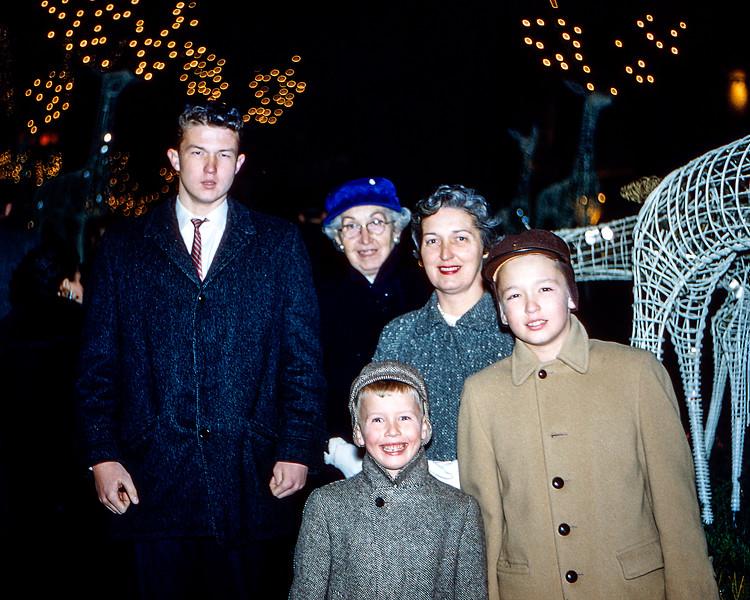 Christmas at Rockefeller Center - 1959