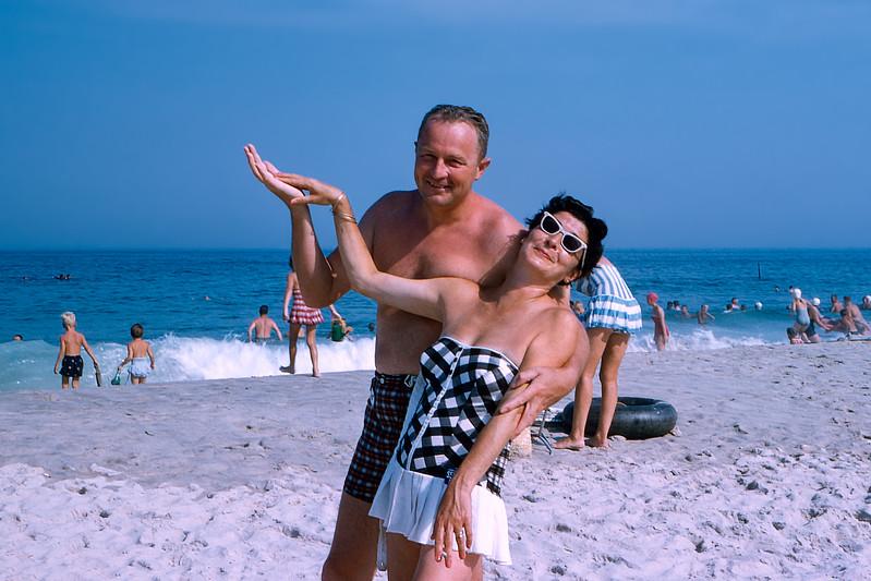 Dad & Dotty - Lavallette - 1959