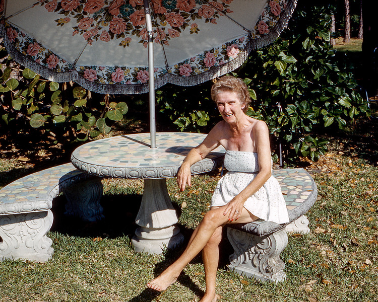 Sarasota - Great Aunt Helen at age 63 - 1962