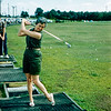 Mom at driving range - June 1960