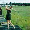 Mom at driving range - June 1960