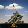 US Marine Corps War Memorial - Arlington, VA - 1960