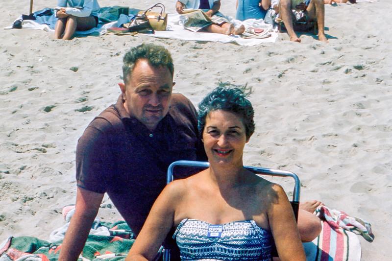 Lavallette - Mom & Dad -  1960