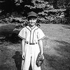 Barry in his Little League uniform - 1960