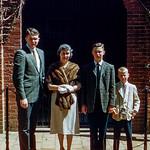 Robert, Mom, Greg & Barry - Washington D.C. - 1961