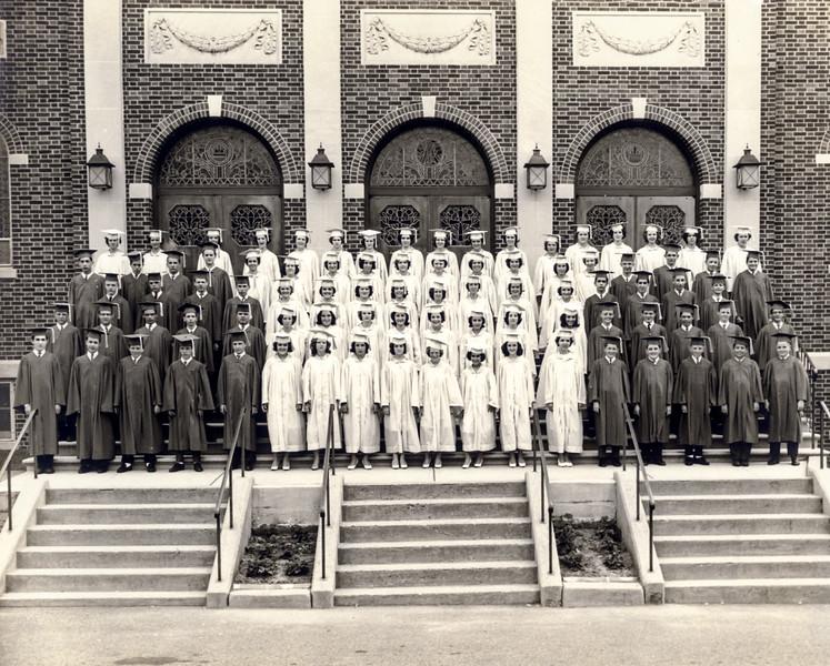 Greg's OLQP graduation class - 1962