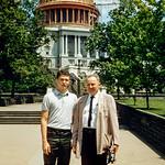 Washington D.C. - Robert & Dad - 1960