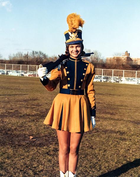 Boni in Color Guard uniform - December 1962