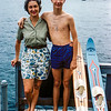 Lake George = Mom & Greg - 1961