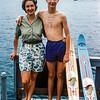 Lake George = Mom & Greg - 1961