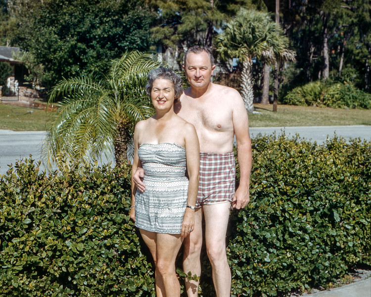 Sarasota, Florida - Mom & Dad - February 15, 1962