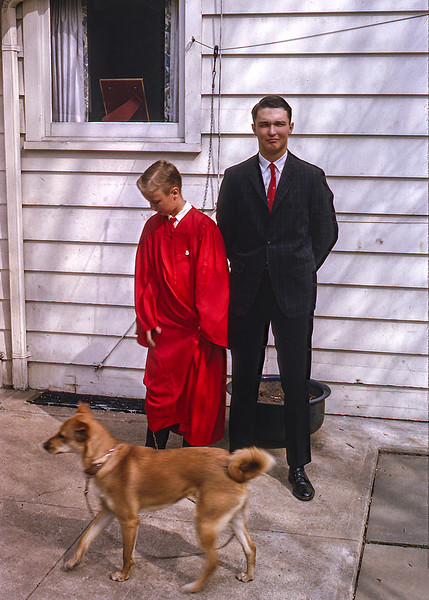 Lady on Barry's Confirmation Day - 1964