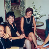 Aunt Maureen & Mom - 25th anniverary party - 1966