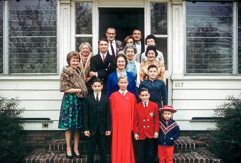 Barry's Confirmation Day - 1964