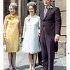 Nana, Mom & Dad at Robert's wedding - 1968