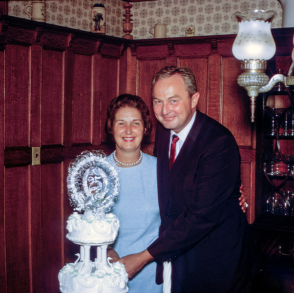 Mom & Dad's 25th anniversary - September 6, 1966