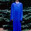 Gregory in Hackensack High cap & gown - 1966