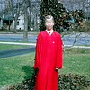 Barry's Confirmation Day  in the front yard of 157 - 1964